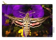 Hummingbird Moth   #8645 Carry-all Pouch