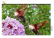 Hummingbird Moths Carry-all Pouch