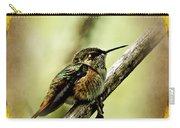 Hummingbird Noveau Carry-all Pouch
