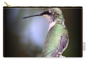 Hummingbird Photo - Side View Carry-all Pouch