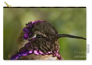 Hummingbird Portrait Carry-all Pouch
