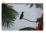 Hummingbird Silhouette Carry-all Pouch