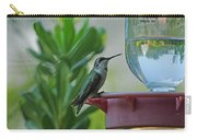 Hummingbird Still Life Carry-all Pouch
