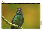 Hummingbird With A Lilac Crown Carry-all Pouch
