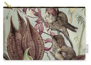 Hummingbirds And Orchids Carry-all Pouch