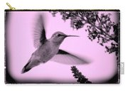 Hummingbirds In Old Frames Collage Carry-all Pouch