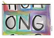 Humongous Word Painting Carry-all Pouch