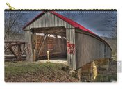 Artistic Humpback Covered Bridge Carry-all Pouch