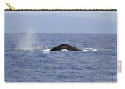 Humpback Pair Carry-all Pouch by Mike  Dawson