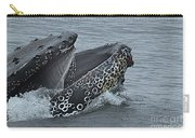 Humpback Whale  Lunge Feeding 2013 In Monterey Bay Carry-all Pouch