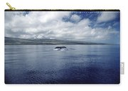 Humpback Whale Tail Slap Hawaii Carry-all Pouch