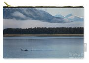 Humpback Whales And Alaskan Scenery Carry-all Pouch