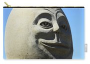 Humpty Dumpty Sand Sculpture Carry-all Pouch by Bob Christopher
