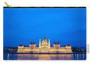 Hungarian Parliament Building At Dusk Carry-all Pouch