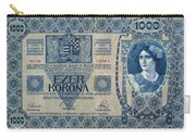 Hungary Banknote, 1902 Carry-all Pouch