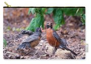 Hungry Baby Robin Carry-all Pouch