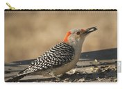Hungry Red-bellied Woodpecker - Melanerpes Carolinus Carry-all Pouch