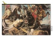 Hunt By The Marsh Homage To Ruebens Carry-all Pouch