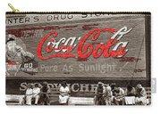 Hunter's Drug Store Coca-cola Mural Greensboro Georgia Marion Post Wolcott Fsa Spring 1939-2014  Carry-all Pouch
