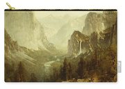 Hunting In Yosemite Carry-all Pouch