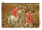 Hunting Scene, 1906 Carry-all Pouch