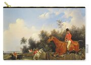 Hunting Scene Carry-all Pouch