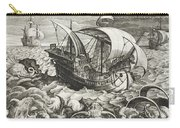 Hunting Sea Creatures Carry-all Pouch