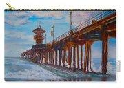 Huntington Beach Pier 2 Carry-all Pouch