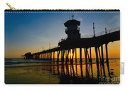 Huntington Beach Pier At Sunset Carry-all Pouch
