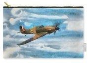 Hurricane Fighter Watercolour Carry-all Pouch
