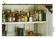 Hurricane Lamp In Pantry Carry-all Pouch by Susan Savad
