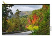 Hwy 281 In The Fall  Carry-all Pouch