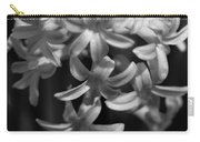Hyacinth In Black And White Carry-all Pouch