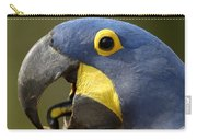 Hyacinth Macaw Cracking Piassava Palm Carry-all Pouch