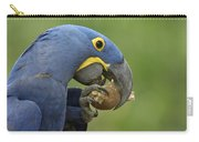 Hyacinth Macaw Habitat Eating Piassava Carry-all Pouch