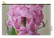 Hyacinth Pink Carry-all Pouch