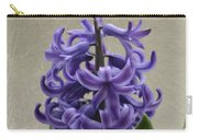 Hyacinth Purple Carry-all Pouch