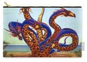 Hydra On Beach Carry-all Pouch