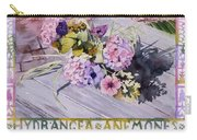Hydrangea Anemones Carry-all Pouch