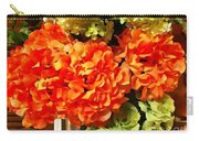 Hydrangea Blast Carry-all Pouch