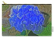 Hydrangea Blues Carry-all Pouch