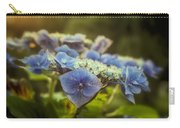 Hydrangea In Fading Light Carry-all Pouch