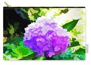 Hydrangea In Watercolor Carry-all Pouch