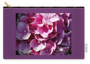 Hydrangea Lavender Petals Carry-all Pouch