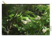 Hydrangea Path Carry-all Pouch