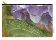 Hydrangea Portrait Carry-all Pouch