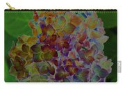 Hydrangea Solorized Carry-all Pouch