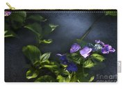 Hydrangea Violet-blue Carry-all Pouch