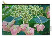 Hydrangea With A New Look Carry-all Pouch