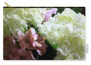 Hydrangeas Bouquet Carry-all Pouch